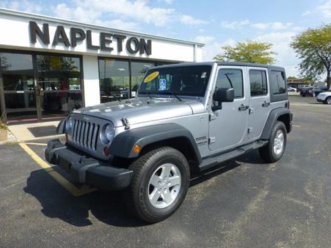 2013 Jeep Wrangler Unlimited for sale in Bourbonnais IL