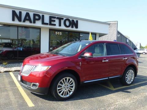 2013 Lincoln MKX for sale in Bourbonnais IL