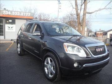 2007 GMC Acadia for sale in Riverview, MI