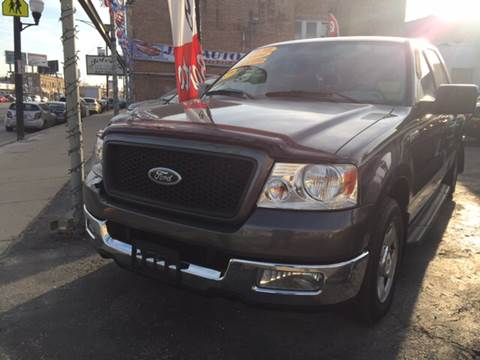 2004 Ford F-150 for sale at Jeff Auto Sales INC in Chicago IL