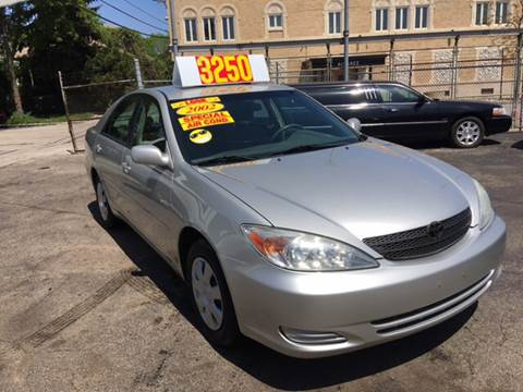 2002 Toyota Camry for sale at Jeff Auto Sales INC in Chicago IL