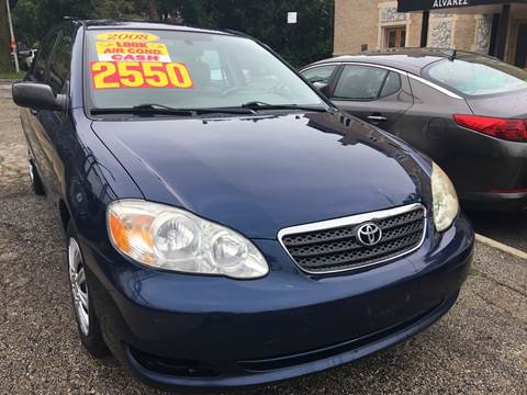 2008 Toyota Corolla for sale at Jeff Auto Sales INC in Chicago IL