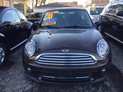 2011 MINI Cooper for sale at Jeff Auto Sales INC in Chicago IL