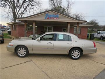 2007 Lincoln Town Car for sale in Tuscaloosa, AL