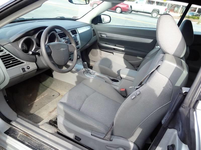 2008 Chrysler Sebring Touring 2dr Convertible - Nashua NH
