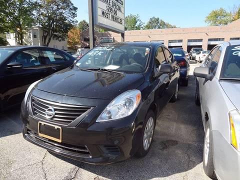 2012 Nissan Versa for sale in Nashua, NH