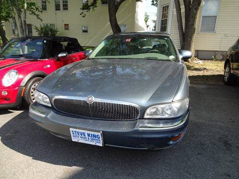 2001 Buick Park Avenue for sale at Matrix Autoworks in Nashua NH