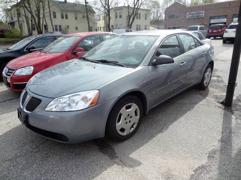 2007 Pontiac G6 for sale in Nashua, NH