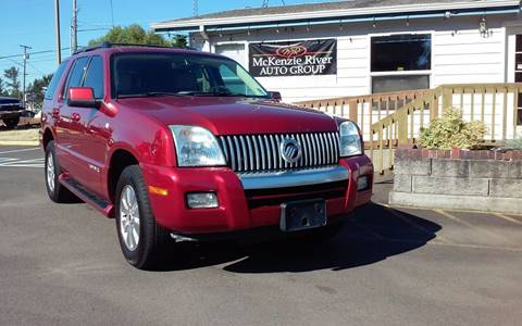 2007 Mercury Mountaineer for sale in Eugene, OR