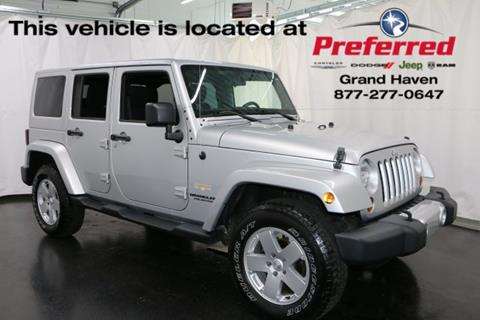 2012 Jeep Wrangler Unlimited for sale in Grand Haven, MI
