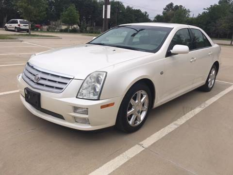 2005 Cadillac STS for sale at Safe Trip Auto Sales in Dallas TX