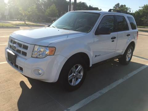 2011 Ford Escape Hybrid for sale at Safe Trip Auto Sales in Dallas TX