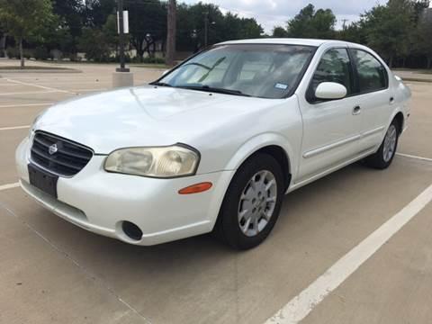 2001 Nissan Maxima for sale at Safe Trip Auto Sales in Dallas TX