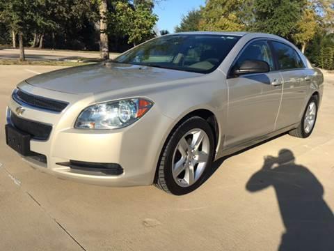 2010 Chevrolet Malibu for sale at Safe Trip Auto Sales in Dallas TX