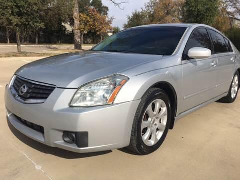 2007 Nissan Maxima for sale at Safe Trip Auto Sales in Dallas TX