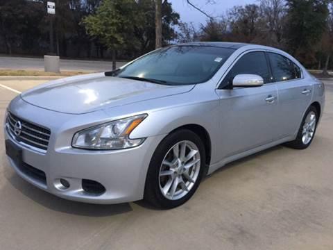 2010 Nissan Maxima for sale at Safe Trip Auto Sales in Dallas TX