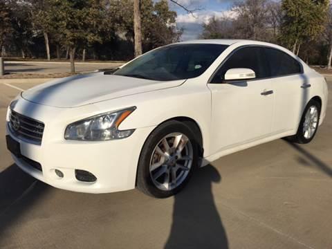 2009 Nissan Maxima for sale at Safe Trip Auto Sales in Dallas TX
