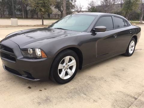 2013 Dodge Charger for sale at Safe Trip Auto Sales in Dallas TX