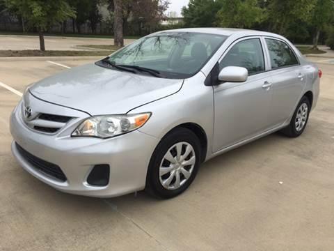 2013 Toyota Corolla for sale at Safe Trip Auto Sales in Dallas TX