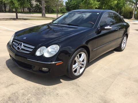 2008 Mercedes-Benz CLK for sale at Safe Trip Auto Sales in Dallas TX