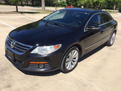 2010 Volkswagen CC for sale at Safe Trip Auto Sales in Dallas TX