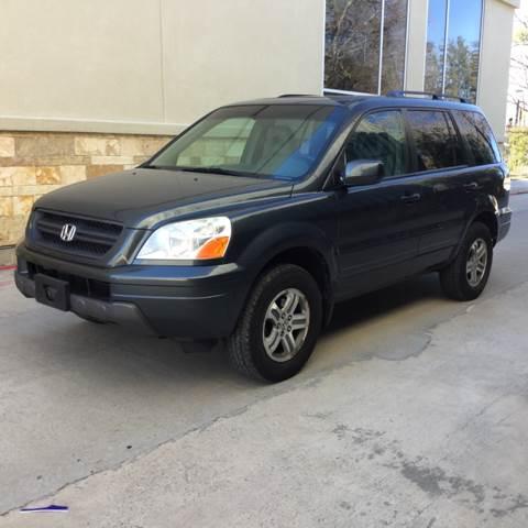 2005 Honda Pilot for sale at Safe Trip Auto Sales in Dallas TX