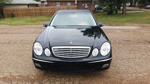 2005 Mercedes-Benz E-Class for sale at Safe Trip Auto Sales in Dallas TX