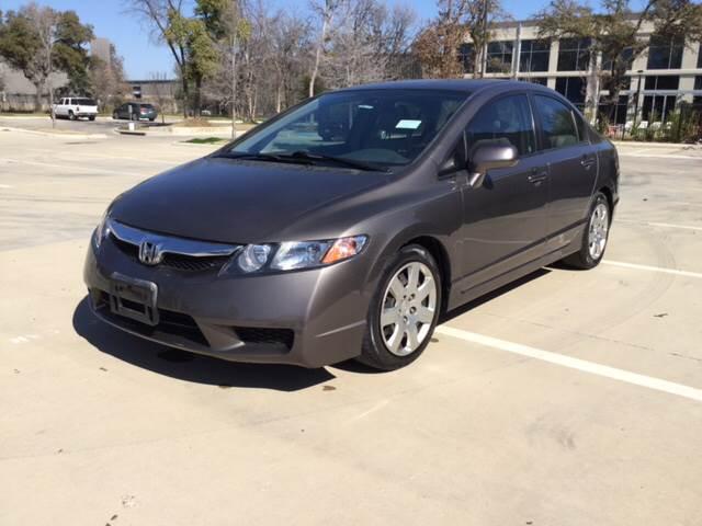 2010 Honda Civic for sale at Safe Trip Auto Sales in Dallas TX