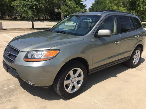 2009 Hyundai Santa Fe for sale at Safe Trip Auto Sales in Dallas TX