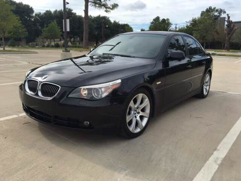 2008 BMW 5 Series for sale at Safe Trip Auto Sales in Dallas TX