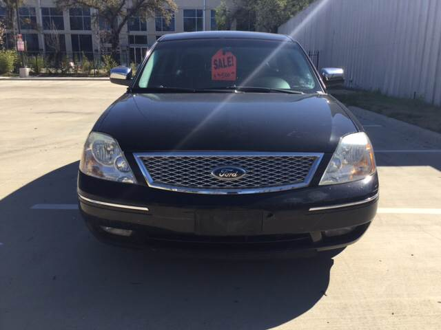 2006 Ford Five Hundred for sale at Safe Trip Auto Sales in Dallas TX