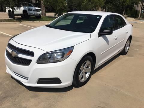 2013 Chevrolet Malibu for sale at Safe Trip Auto Sales in Dallas TX