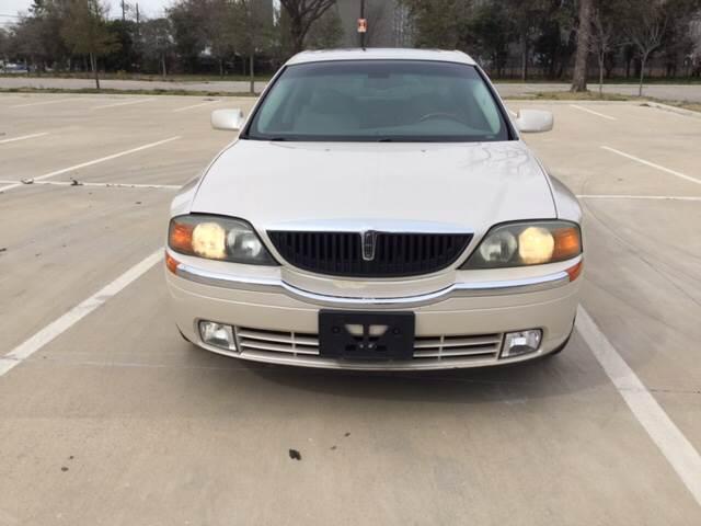 2002 Lincoln LS for sale at Safe Trip Auto Sales in Dallas TX