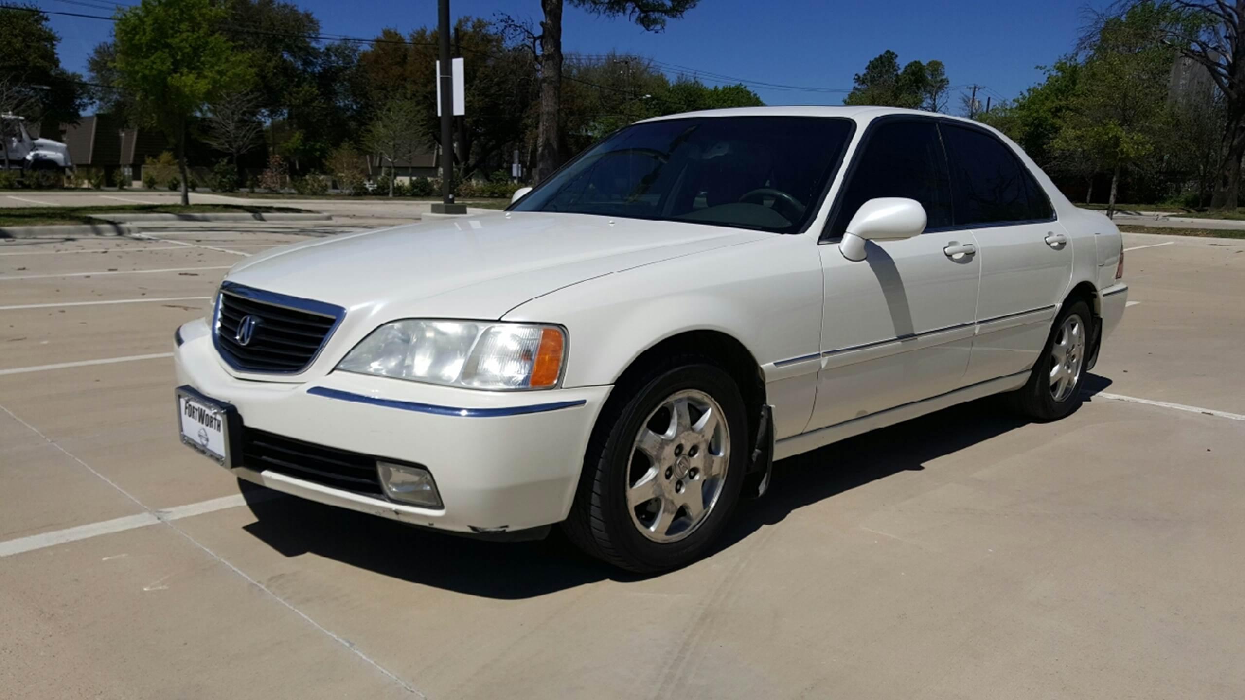 2002 Acura RL for sale at Safe Trip Auto Sales in Dallas TX