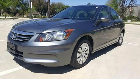 2012 Honda Accord for sale at Safe Trip Auto Sales in Dallas TX
