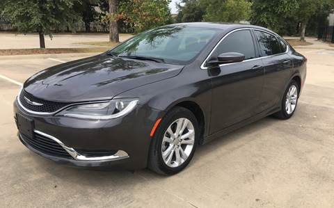 2015 Chrysler 200 for sale in Dallas, TX