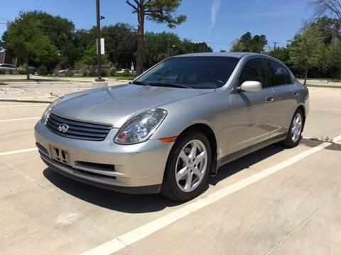 2004 Infiniti G35 for sale at Safe Trip Auto Sales in Dallas TX