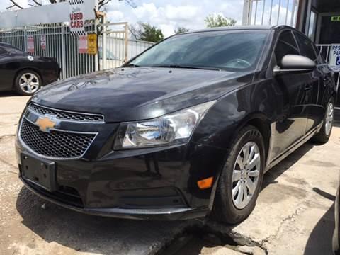 2011 Chevrolet Cruze for sale at Safe Trip Auto Sales in Dallas TX