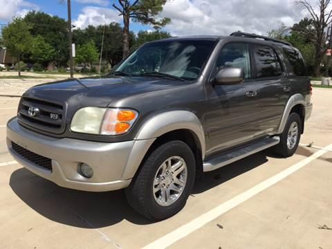 2004 Toyota Sequoia for sale at Safe Trip Auto Sales in Dallas TX
