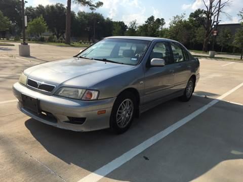 2001 Infiniti G20 for sale at Safe Trip Auto Sales in Dallas TX