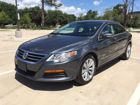 2012 Volkswagen CC for sale at Safe Trip Auto Sales in Dallas TX