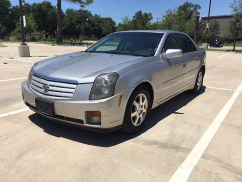 2006 Cadillac CTS for sale at Safe Trip Auto Sales in Dallas TX