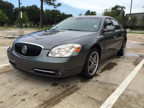 2006 Buick Lucerne for sale at Safe Trip Auto Sales in Dallas TX
