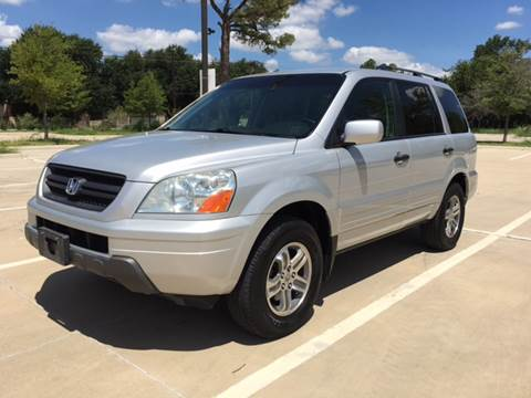2004 Honda Pilot for sale at Safe Trip Auto Sales in Dallas TX