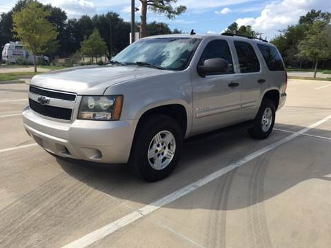 2007 Chevrolet Tahoe for sale at Safe Trip Auto Sales in Dallas TX