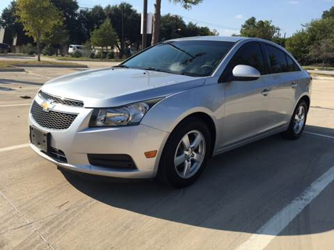 2012 Chevrolet Cruze for sale at Safe Trip Auto Sales in Dallas TX