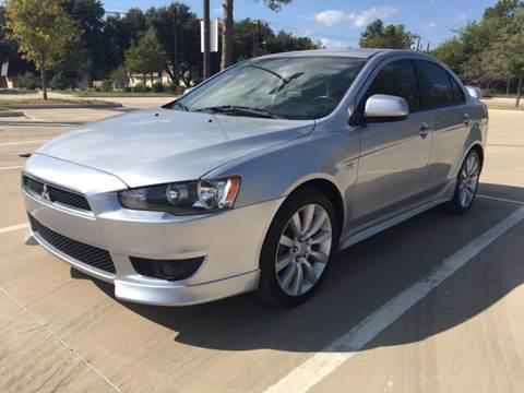 2008 Mitsubishi Lancer for sale at Safe Trip Auto Sales in Dallas TX