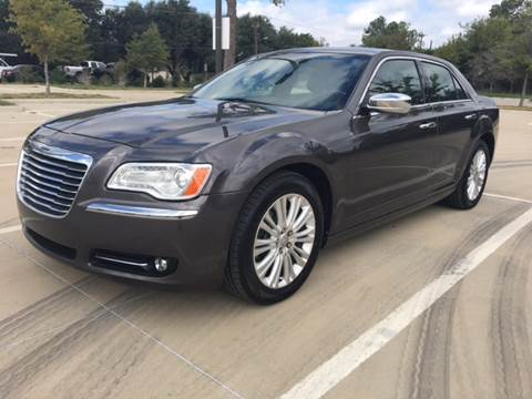2013 Chrysler 300 for sale at Safe Trip Auto Sales in Dallas TX