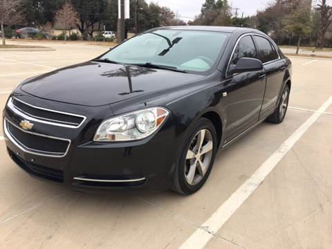 2008 Chevrolet Malibu for sale at Safe Trip Auto Sales in Dallas TX