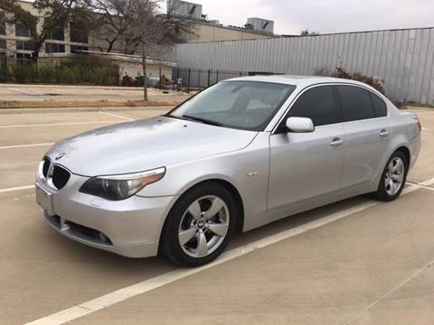 2005 BMW 5 Series for sale at Safe Trip Auto Sales in Dallas TX